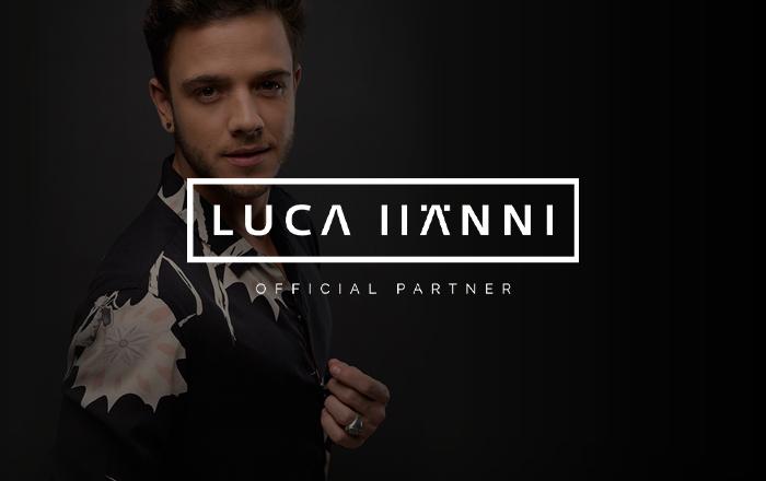 Partnerschaft mit Luca Hänni